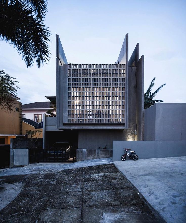 Building of the day - Conformable Minimax House in Lembang, Bandung City, West Java, Indonesia
