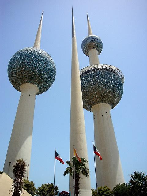 Kuwait: Kuwait Towers. Nuevos mercados... ¿nuevas oportunidades?
