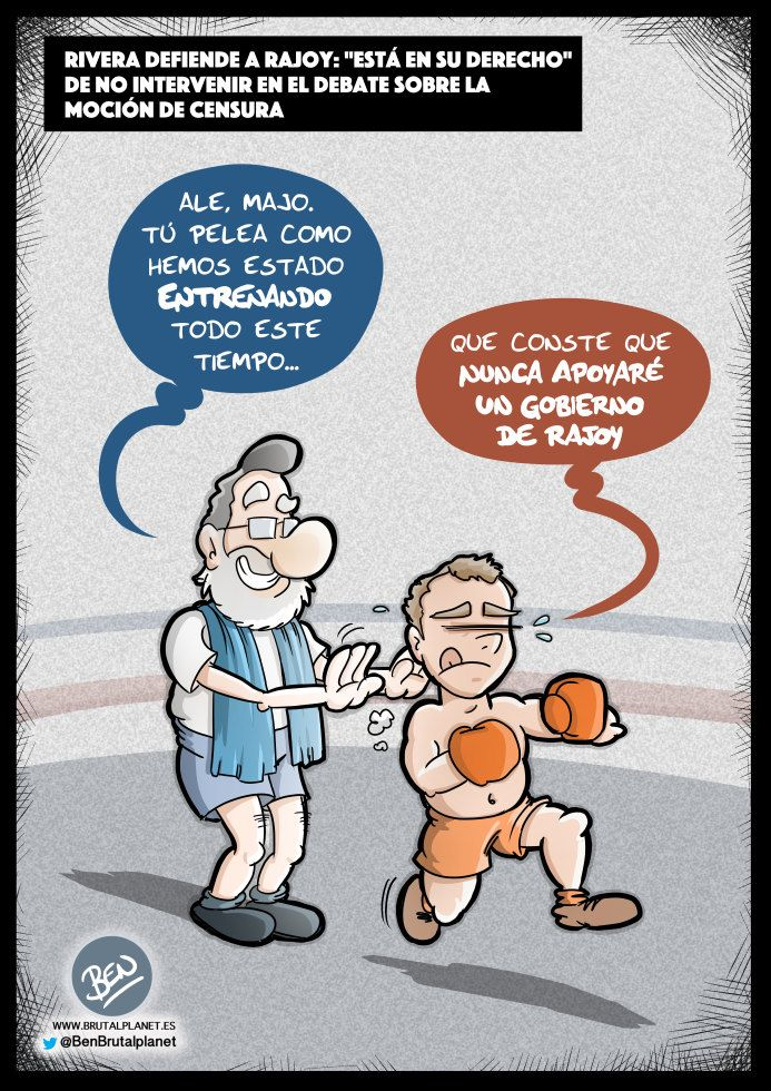 Yo entrené a Roque III #Sátira #Albert_Rivera #Albert_Rivera_de_derechas