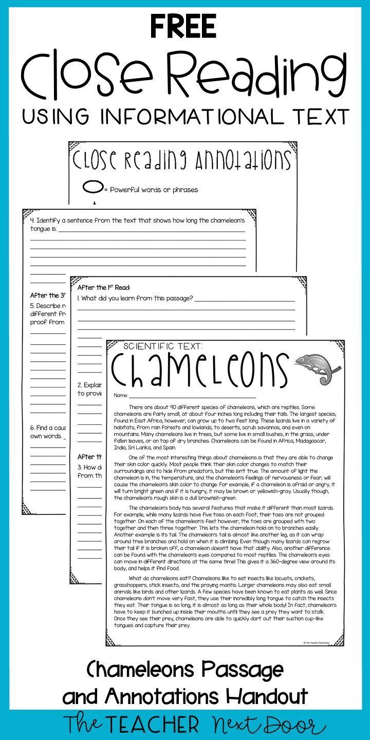 Close Reading Using Informational Text Freebie For 3rd Grade Https Life Newseoweb Com Close R Close Reading Passages Close Reading Lessons Reading Passages [ 1440 x 720 Pixel ]