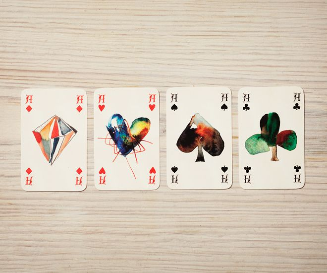 Playing cards from http://www.ignant.de/mshop/