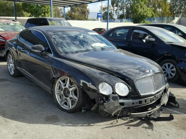 Salvage 2009 Bentley Continental Gt Coupe For Sale | Salvage Title