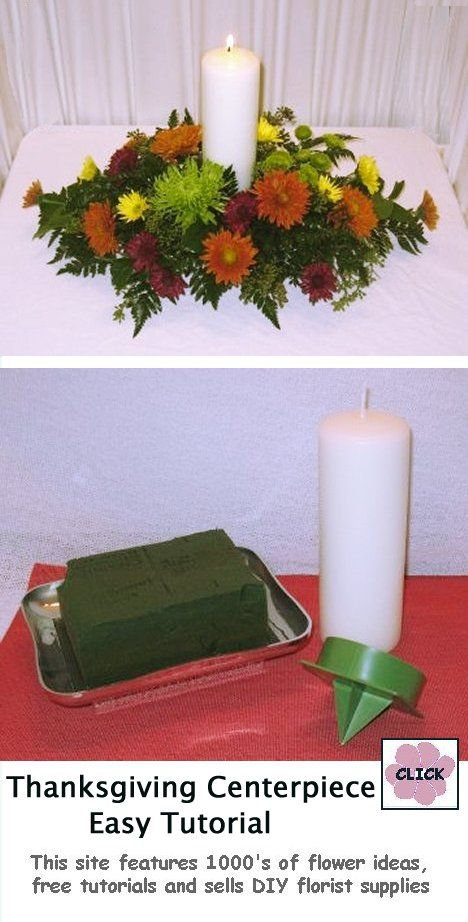 38 Best How To Make A Centerpiece Images On Pinterest