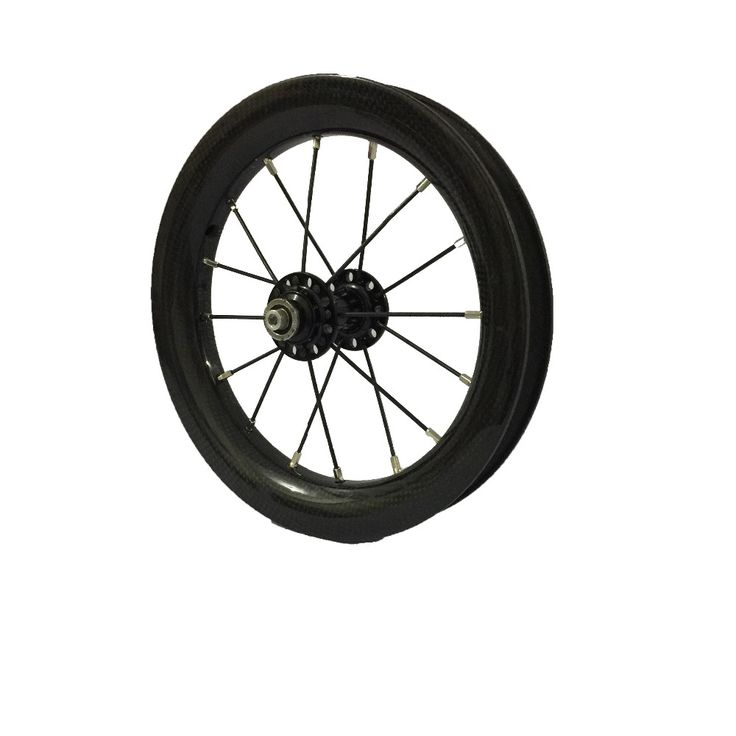 340.00$  Buy here - http://aliw6x.worldwells.pw/go.php?t=32746778545 - SEMA 2017 kid pushbike balance bicycle 86mm 90mm 95 mm alex carbon rim 20 hole  bearing hub