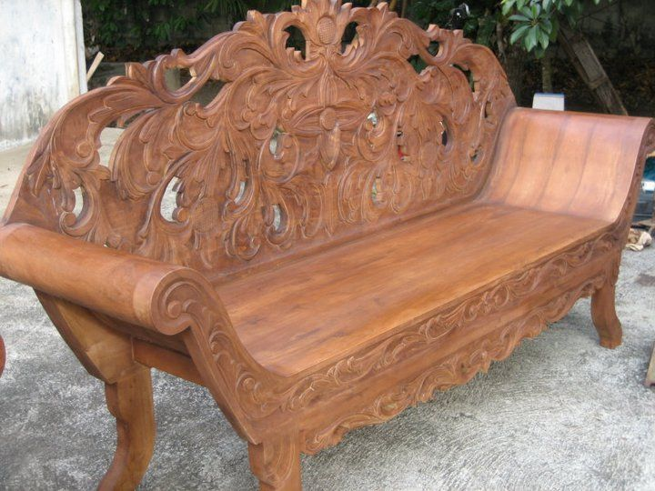 Mahogany Wood Bed For Sale