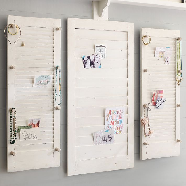 No room is complete without a cute wall organizer.