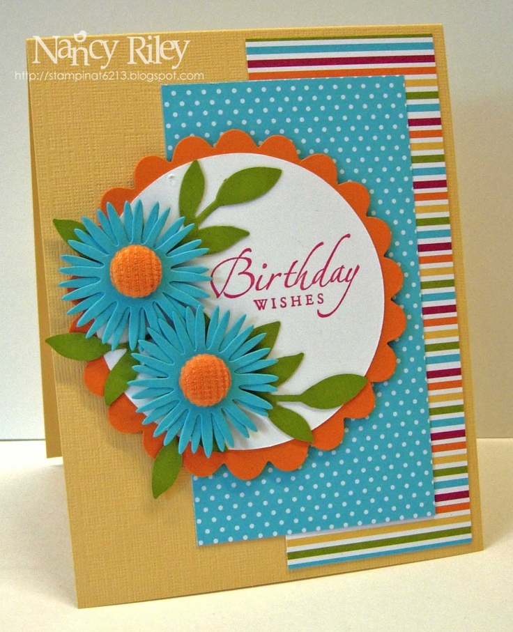 i STAMP by Nancy Riley: ISLAND OASIS DAISIES for SWEET SUNDAY