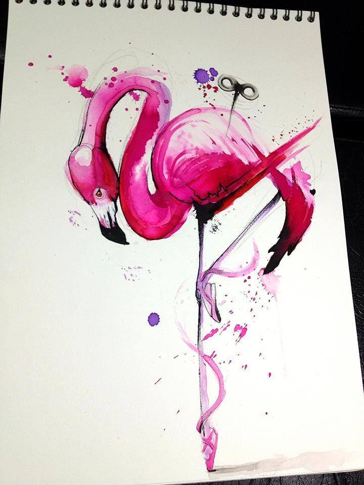 Les 32 Meilleures Images Du Tableau Tatouage Flamant Rose