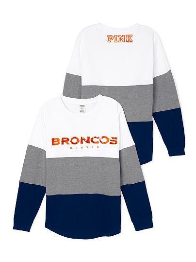 Denver Broncos Varsity Crew - PINK - Victoria's Secret