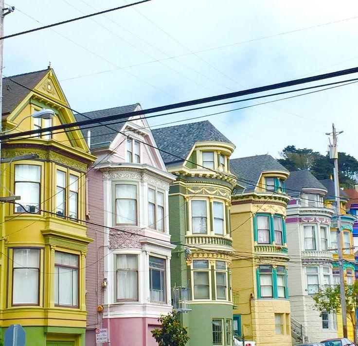 Wauw! Dit zijn de meest kleurrijke huizen van San Francisco
