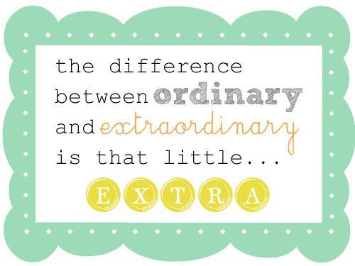 EXTRAORDINARY :)