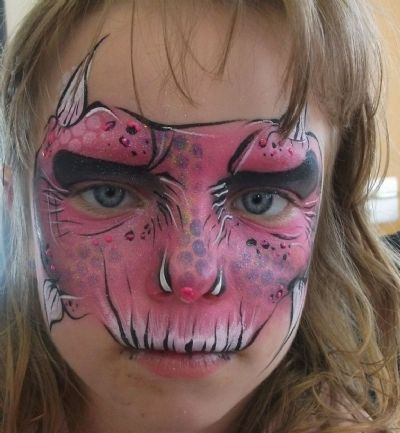 1 Week (5 days ) beginners Face painting course