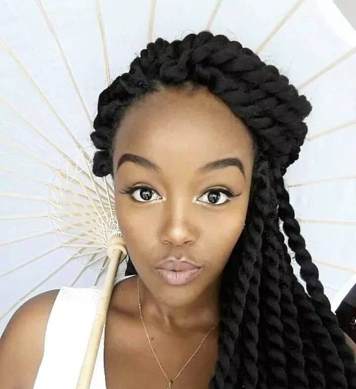 20 New Extension Hairstyles For Natural Hair Best Weave Hairstyles For Natural Hair Black Weave Hairstyles For Natural Hair Braid Extension Styles For Natur