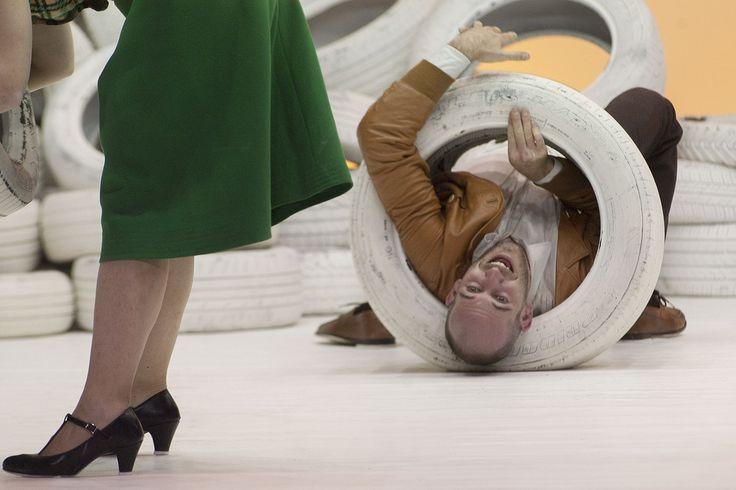 """La nuova creazione di ricci/forte, PPP Ultimo inventario prima di liquidazione, chiude la stagione del Teatro Argentina, dal 14 al 16 giugno, completando l'omaggio che il Teatro di Roma ha dedicato al """"poeta corsaro"""" nel quarantennale della sua tragica..."""