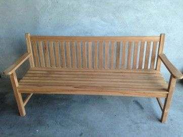 NEW ONLINE STORE | Trilogy Exclusive Teak 'York' Bench - 3 sizes available.  Delivery $75 for any number of items within 25km of Perth CBD!  SHOP here http://bit.ly/21CLsTR