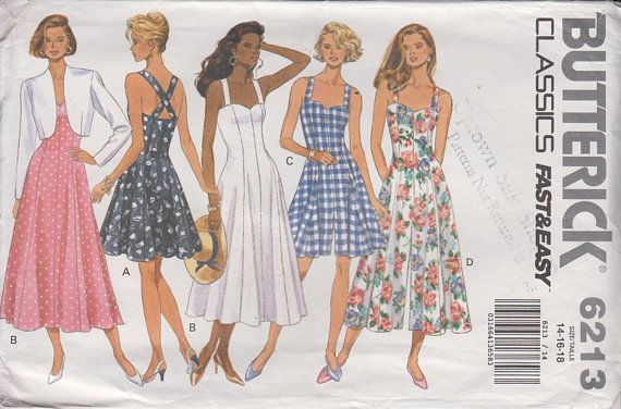 Pin On 1990s Sewing Patterns