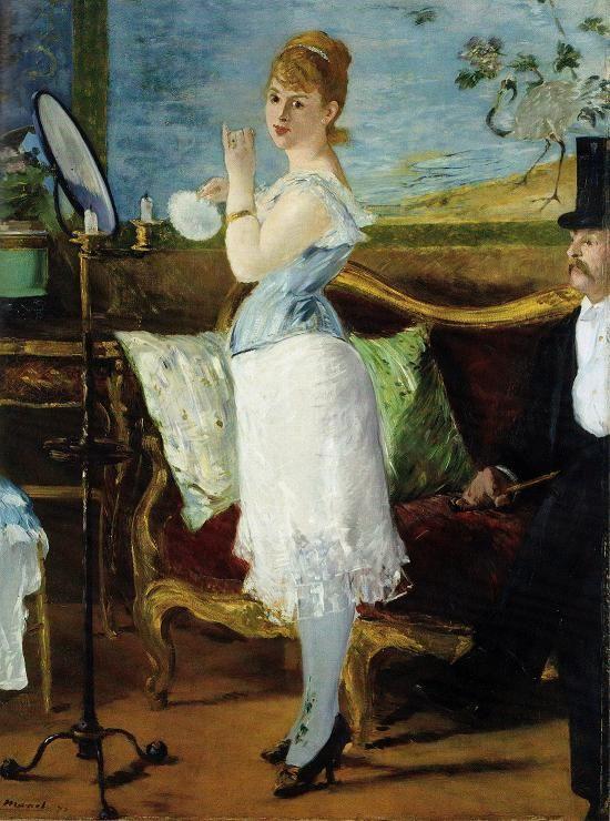 Nana - Edouart Manet - 1877.