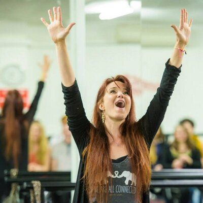 Sierra Boggess... And I love her shirt