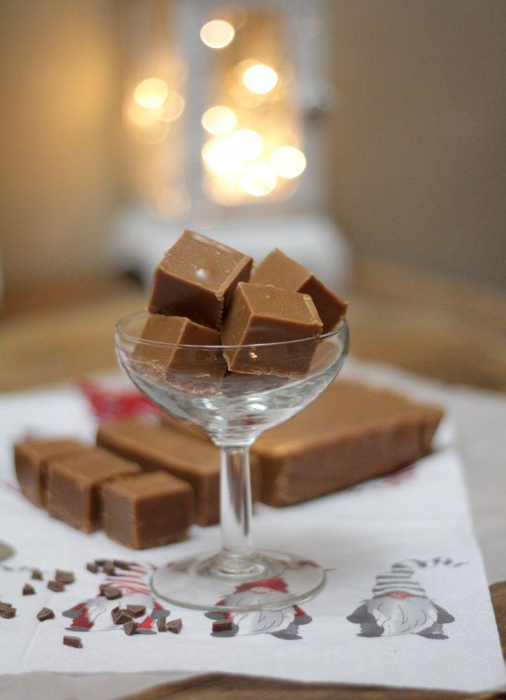 Mjölkchokladfudge