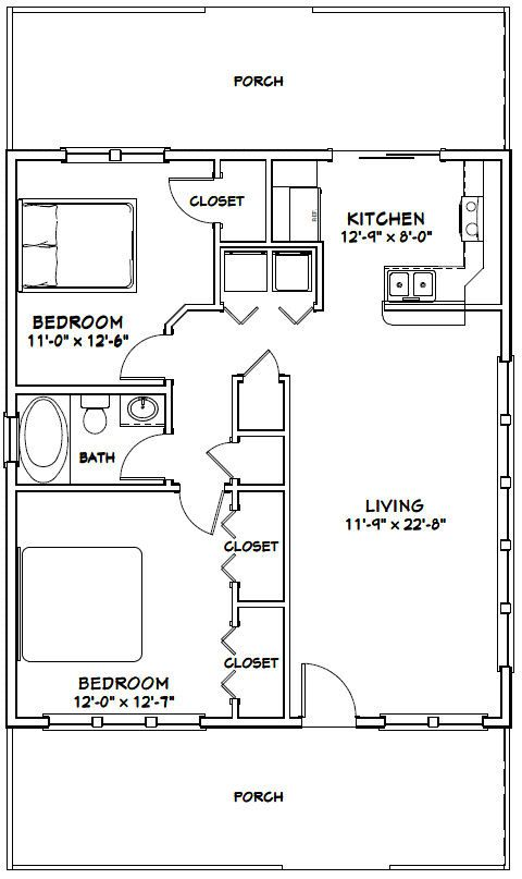 Best 25 shed floor plans ideas on pinterest small cabin for 28x32 floor plan