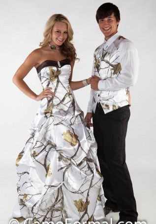 >> Click to Buy << Snow Realtree White Camouflage Wedding Dresses Long Robe De Mariage Ball gowns Women Maxi Camo Bridal Gowns Custom Made #Affiliate