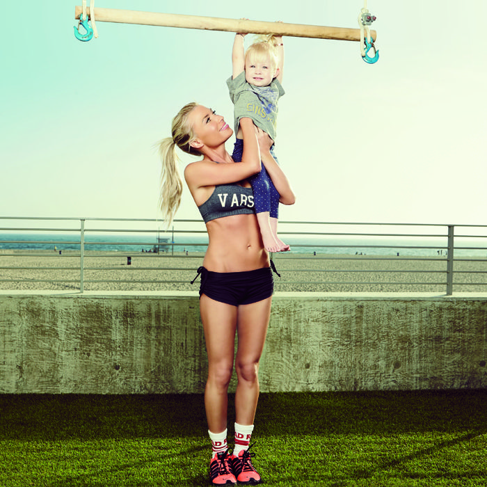 Feel stronger in a week with this new-mom workout from Tracy Anderson, fitness guru to Gwyneth Paltrow.