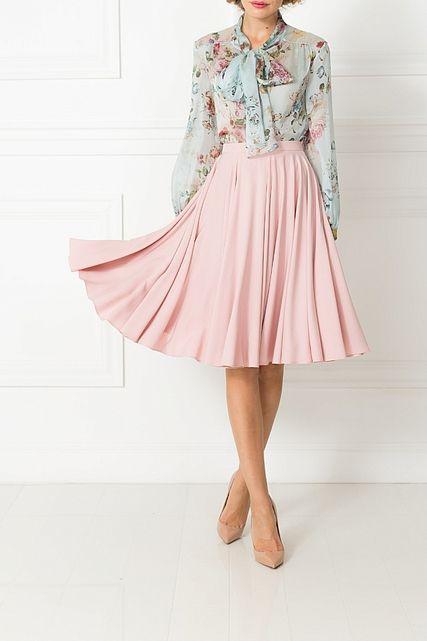 юбка - супер солнце - юбки средней длины