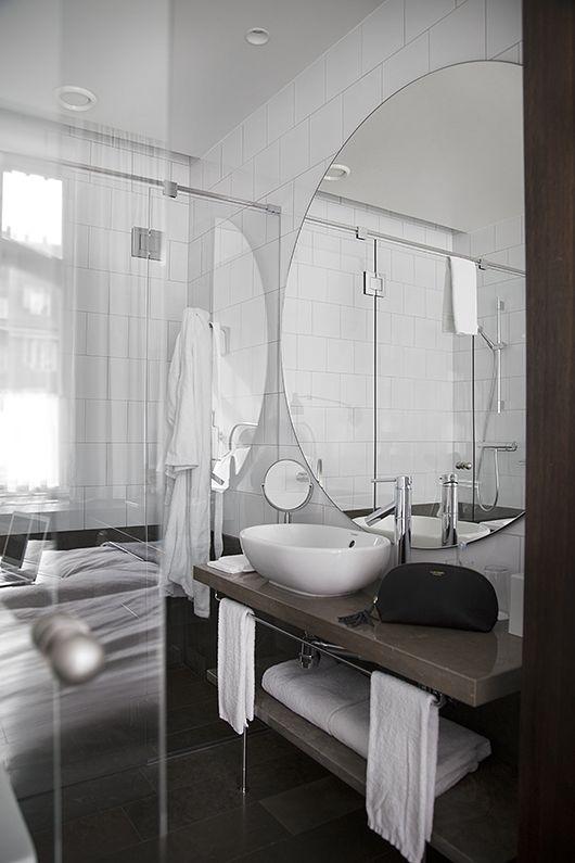 Bathroom inspo! Image from the interior blog Trendenser.se
