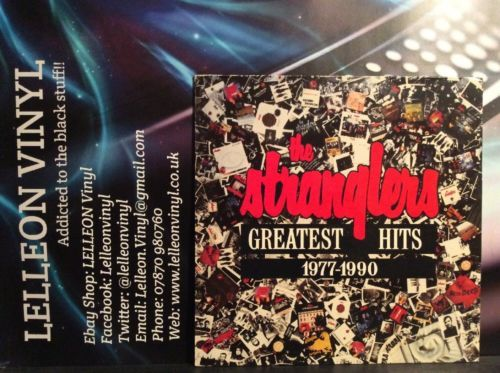 The Stranglers Greatest Hits 1977-1990 LP Album Vinyl 467541 A1/B1 Rock 90's Music:Records:Albums/ LPs:Rock:Progressive