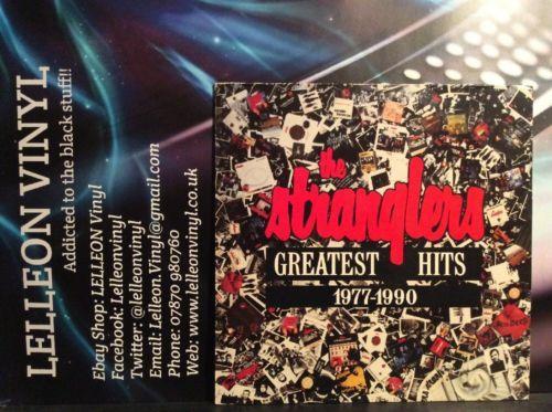 The Stranglers Greatest Hits 1977-1990 LP Album Vinyl 467541 A1/B1 Rock 90's Music:Records:Albums/ LPs:Rock:Progressive
