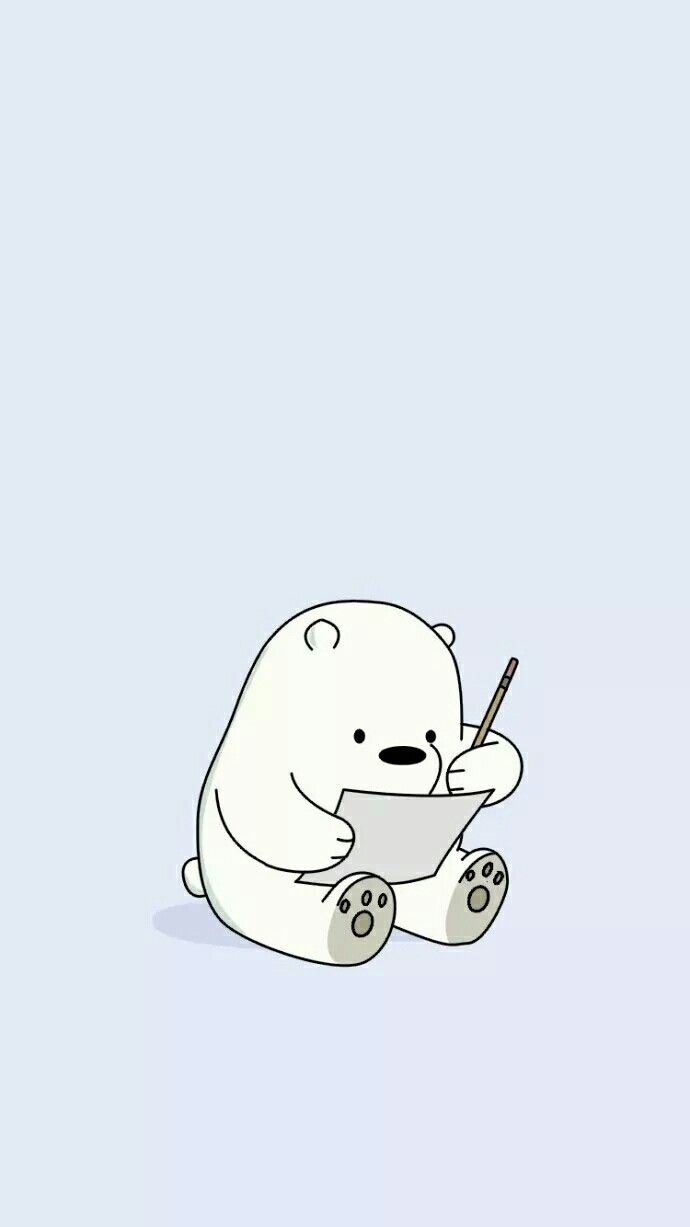 Pin By Thiri Aung On We Bare Bears We Bare Bears Wallpapers Ice