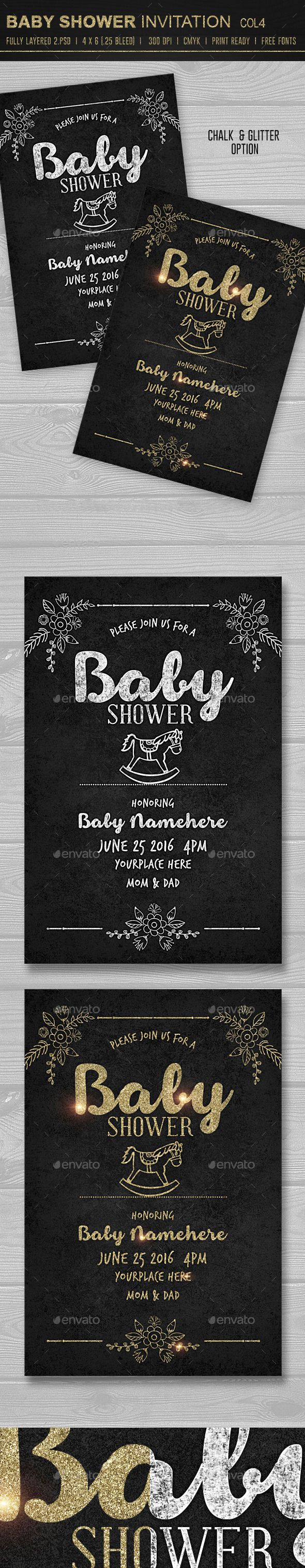 Baby Shower Invitation Template 20 best Invitation