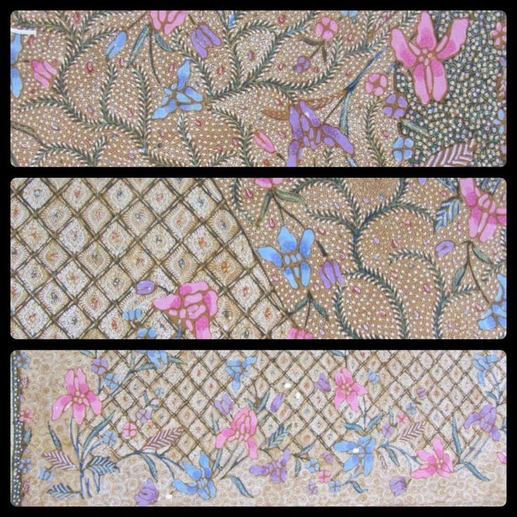 Details of my Lovely Demakan Batik