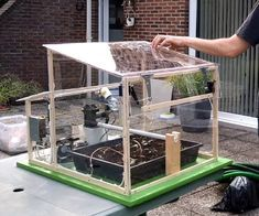 We decided to design a greenhouse as subject for our electronic project. The goal was to regulate the temperature inside the greenhouse thanks a lamp, a servomotor to open a window and a PC fan. We wanted to maintain a quite constant level of soil moisture with a pump and to receive temperature, soil moisture and luminosity measurements. Finally, we designed a website to be able to control it remotely.This project was made for our electronic course and we wanted to use a raspberry pi and an…