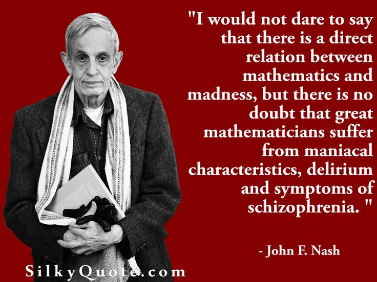 John Forbes Nash, Jr. (1928– 2015) was an American mathematician with fundamental contributions in game theory, differential geometry, and partial differential equations. Nash was awarded the 1994 Nobel Prize for economics for a paper about game theory. His theories are used in economics, computing, evolutionary biology, artificial intelligence, accounting, computer science, games of skill, politics and military theory.