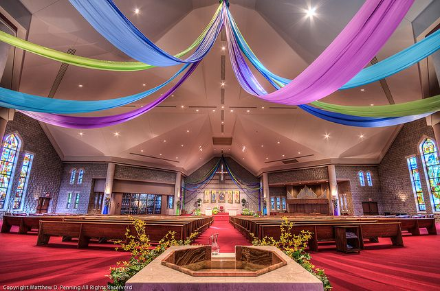 easter decorations for church: Deco Ideas, Church Decorations, Color, Easter 11, Easter Decor, Agnes Easter, Cool Ideas, Easter Church, Worship Ideas