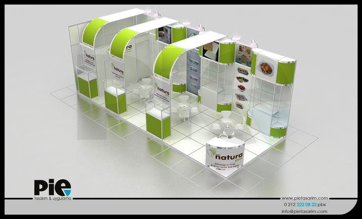 WorldFood Fuarı ''NATURAL PACK'' Stand Tasarımımız