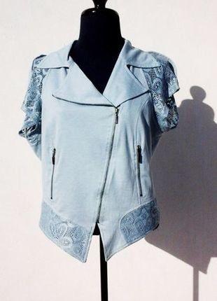 À vendre sur #vintedfrance ! http://www.vinted.fr/mode-femmes/autres-hauts/28980852-veste-legere-femme-manches-courtes-lauren-vidal-lagon-taille-40