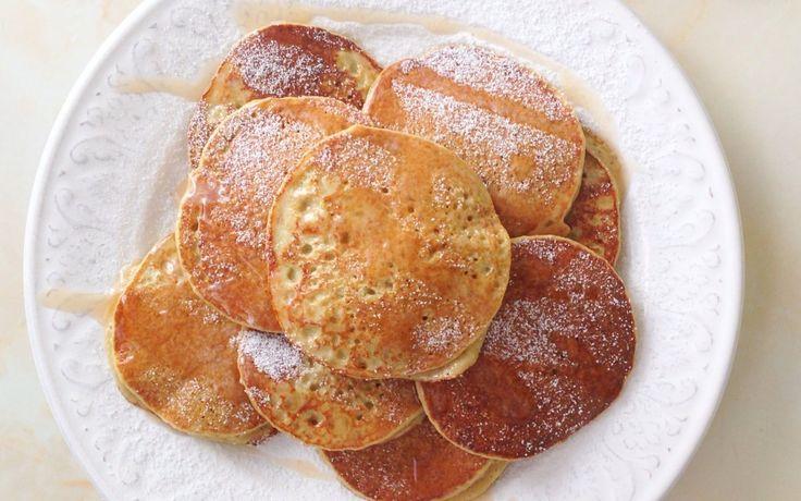 RECETA FITNESS/Mini tortitas de manzana #desayuno                                                                                                                                                                                 Más