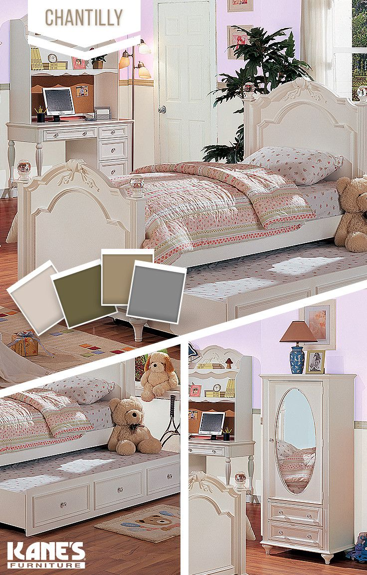 Chantilly Full Bed Collection