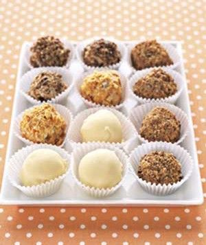 Ice Cream Truffles.   I can see using dozens of ice cream  coating combinations with this! Why stop at vanilla? Arrange 3 different flavors in a small, decorative, dessert dish. Make a mini banana split!