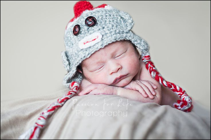Newborn Boy, 8 days old.   Image by Passion for Life Photography