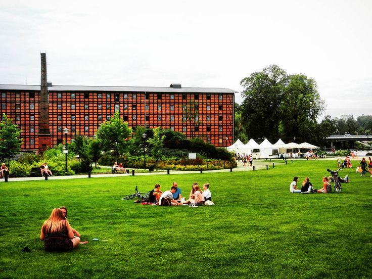 Wyspa Młyńska to oaza zieleni w samym sercu Bydgoszczy. Dobre miejsce aby się zrelaksować  ______________ #docelowo #Bydgoszcz#visitbydgoszcz#Poland#Polska#Polonia#Polen#cloudy#kujawskopomorskie#Kujawy#green#city#citylife#industrial#Relax#chillout#picnic#biketrip#bike#instatravel#instaphoto#vsco#vscocam#vscogood#weekend#Sunday#polishgirl#polishboy#August#summer