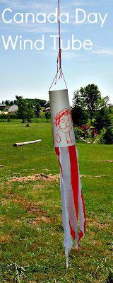 Canada Day Wind Tube