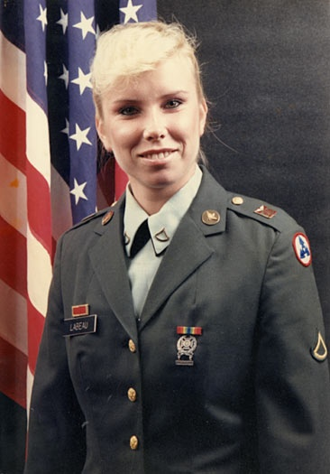 Sgt. Cheryl Lebeau O'Brien: October 14, 1966 – February 27, 1991. Cheryl O'Brien was the first woman in the 1st Infantry Division killed-in-action. On February 27, 1991, she volunteered to be a door-gunner on a Blackhawk transporting the remains of fallen soldiers. During the mission her helicopter was shot down by Iraqi forces - 2 hours after the cease fire was declared. Cheryl, along with the other nine people onboard, died in the crash.