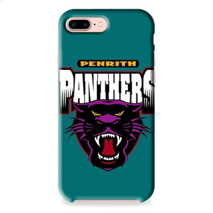 Penrith Panthers Galaxy iPhone 7 3D Case Dewantary