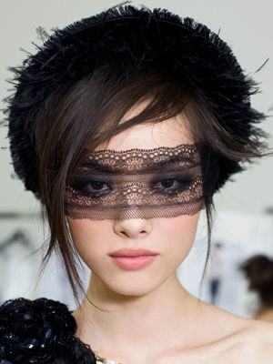 this would be cool if the lace was done in actual make up... lol