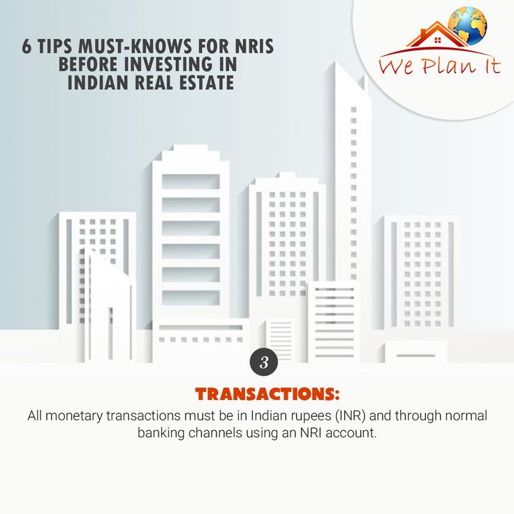 6 #Tips must-Knows for #NRI's before investing in Indian Real Estate.  Visit our #Brigade Group #Project in #India: https://www.weplanithk.com/project/brigad e/82/ Or Call us at 852-98101465 to fix an Appointment We Plan It - Hong Kong - We are #RealEstate Advisory in #HongKong For #IndianProperty #Investment #Home #SecondHome #NRIInvestment
