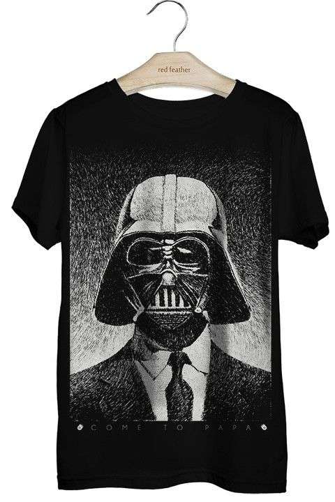 Camiseta Masculina Darth Vader