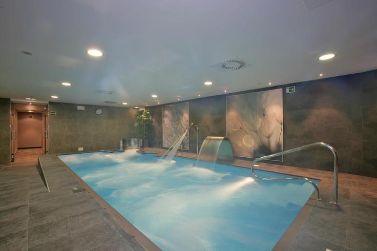 LangrehOtel. Hoteles balnearios Langreo, Asturias, Spain. Looks like a fun place to swim